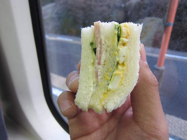 静岡・伊豆放浪記 1日目 朝ごはん!サンドイッチも食べる!