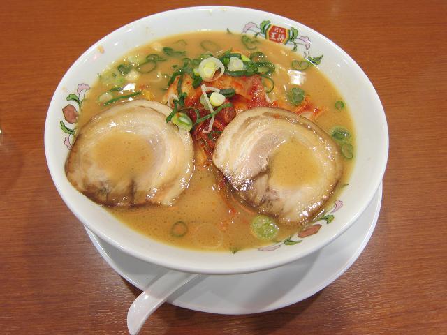 餃子の王将 高知御座店 キムチラーメン