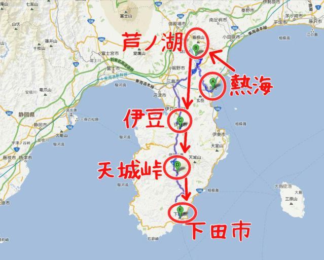 2日目 地図