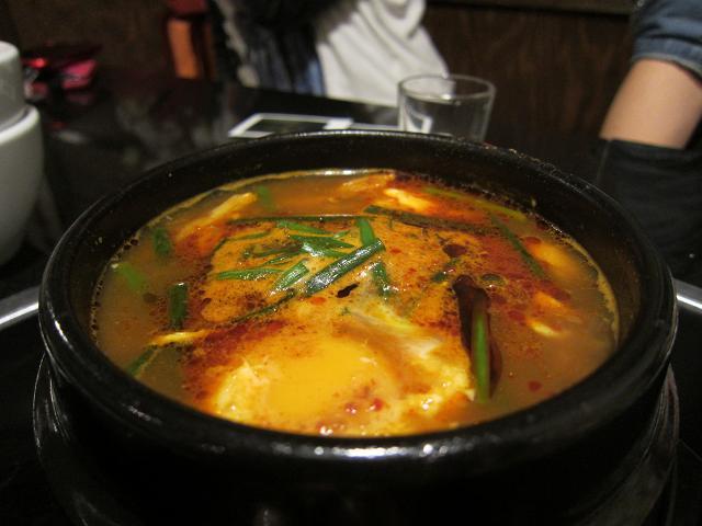 韓国居酒屋景福宮 スンドゥブチゲ