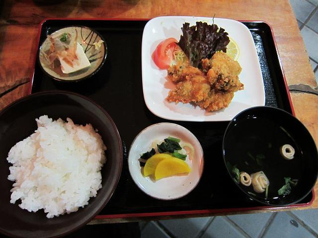 かき吉 かきフライ定食