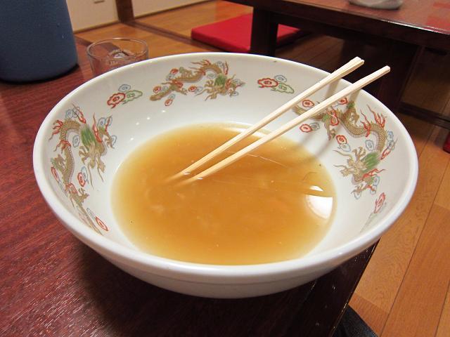 鳳龍菜館 天津ら~麺 あと少し!