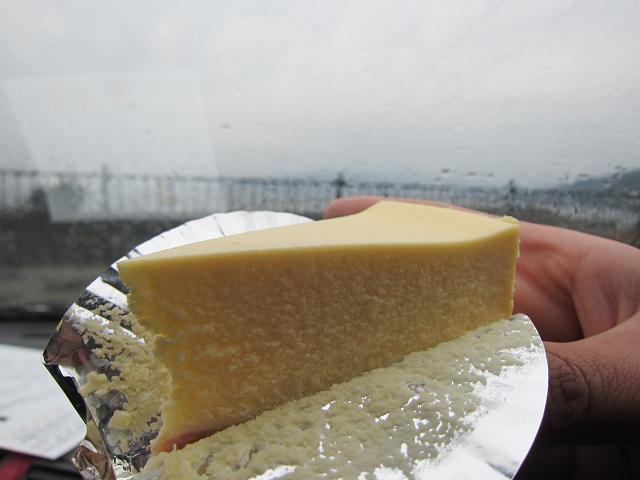 歌碑めぐり ちーず屋 ニューヨークチーズケーキ