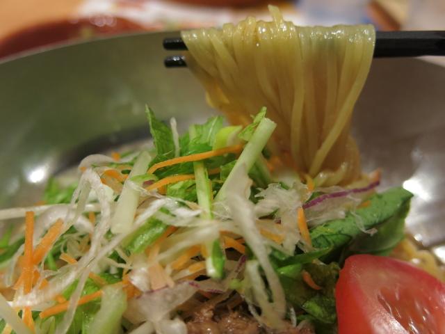 ガスト・冷製担々麺3