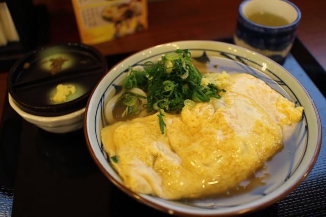 丸亀製麺・だし玉肉うどん2