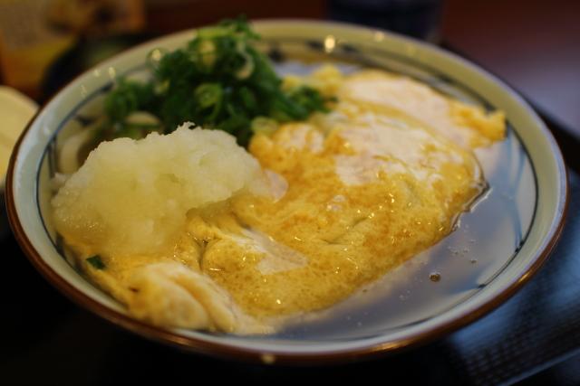 丸亀製麺・だし玉肉うどん5