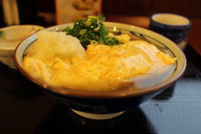 丸亀製麺・だし玉肉うどん6
