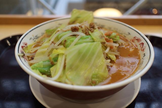 丸醤屋・肉味噌野菜ラーメン大盛10