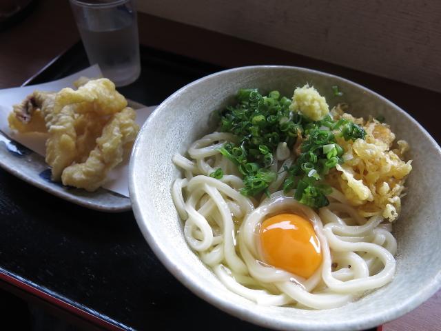 おおつ製麺 釜玉1