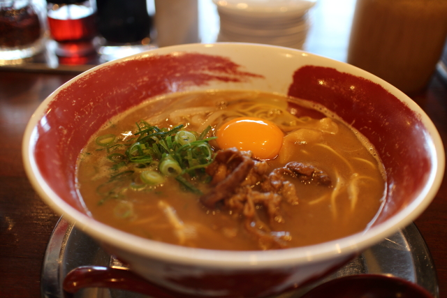 徳島ラーメン麺王・葛島店1