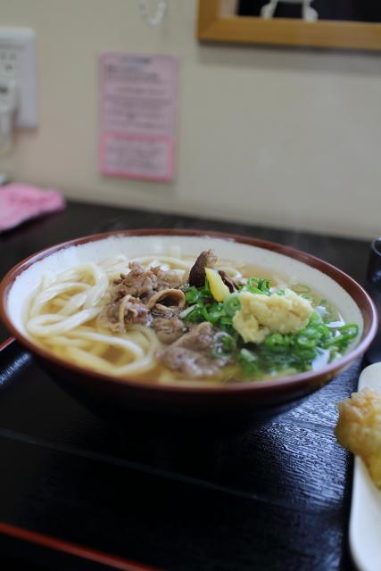 ひなた屋・肉うどん(大)2