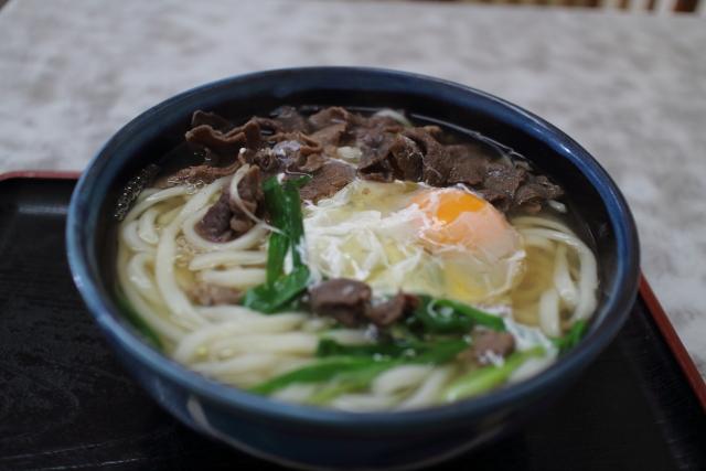 田吾作・肉うどん(大)1