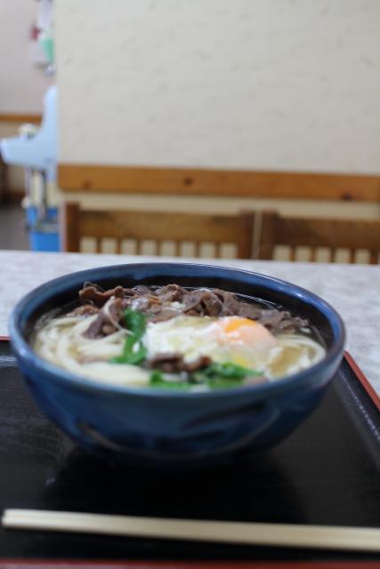 田吾作・肉うどん(大)3