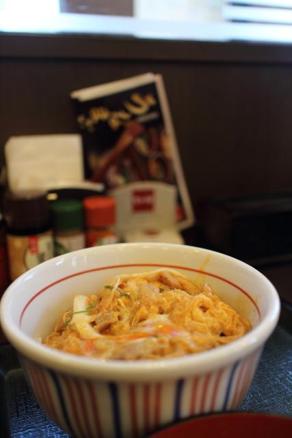 なか卯・冷やし坦々・親子丼2