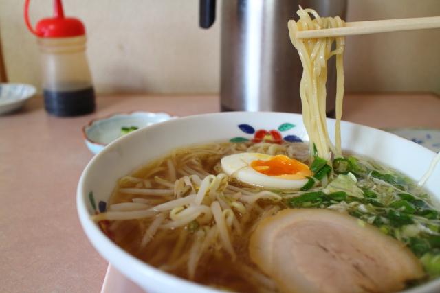 美味しんぼ山岡・担々麺・千春さ12