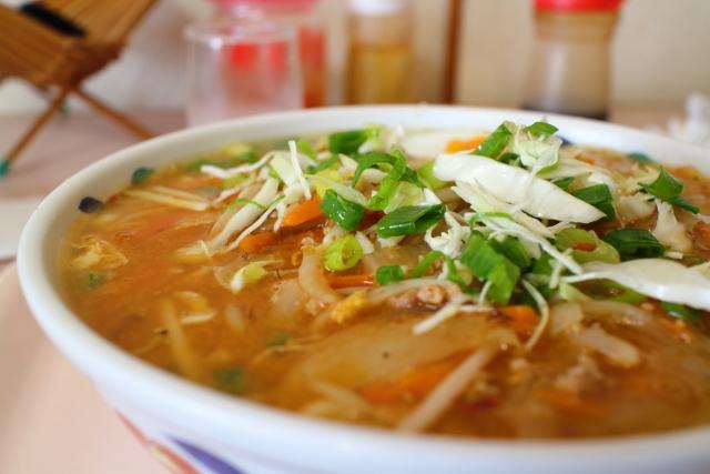 美味しんぼ山岡・担々麺・千春さ14