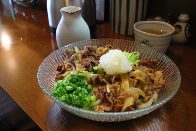 麺房まつみ・冷かけ天ぷらうどん7
