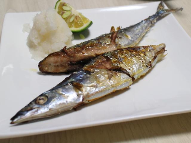 自作・牛すじ煮込み・秋刀魚8