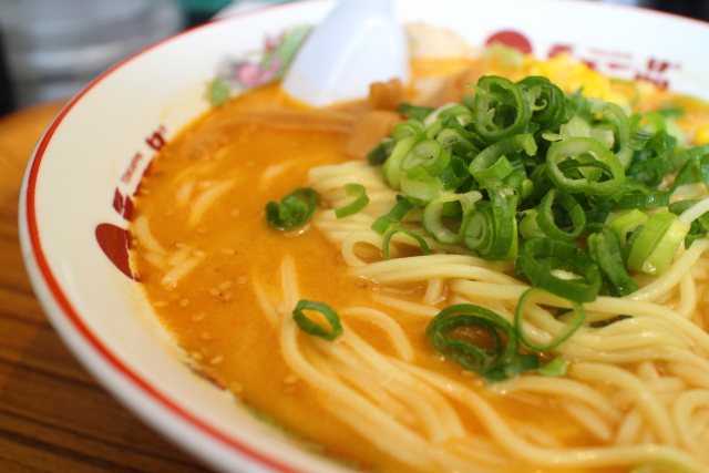 天下一品・京都白味噌ラーメン6