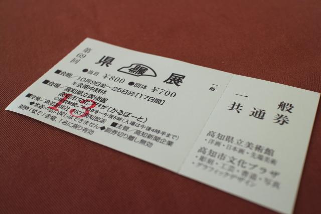 県展・かるぽーと・高知美術館1