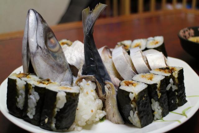 寺尾鮮魚店サバ寿司3