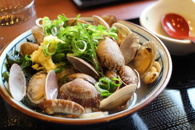 丸亀製麺・あさりうどん3