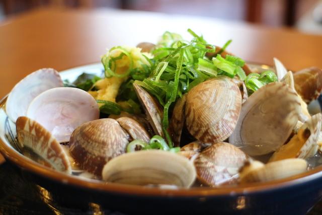 丸亀製麺・あさりうどん4