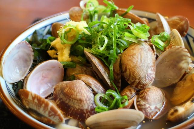 丸亀製麺・あさりうどん5