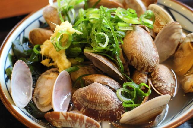 丸亀製麺・あさりうどん6