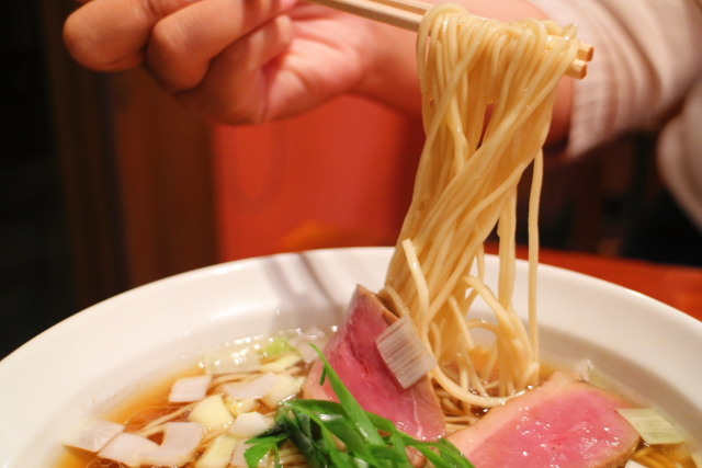 夜須製麺所・鴨らぁ麺 (4)