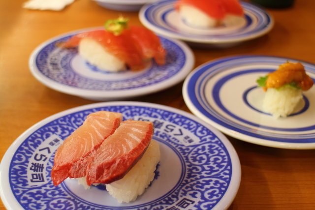 くら寿司・かけうどん(高知)2