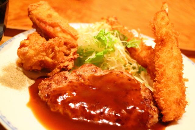 帯屋町に程近いはりまや町京町商店街「一八の食家」居酒屋ランチ