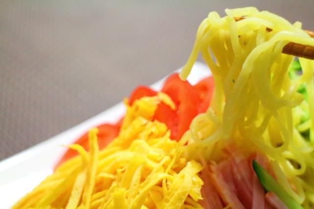 横山麺業・冷やし中華4