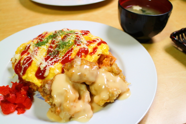 西山料理店(田野町)オムライス4