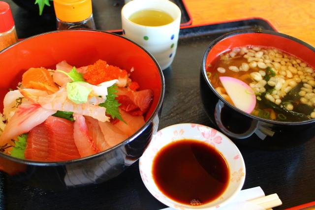 活魚レストラン藤・高知・海鮮丼6