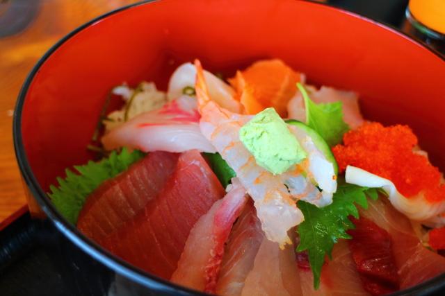 活魚レストラン藤・高知・海鮮丼8