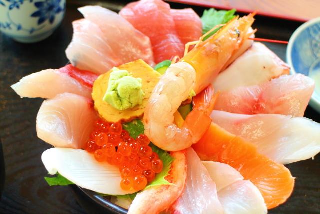 活魚レストラン藤・高知・海鮮丼12