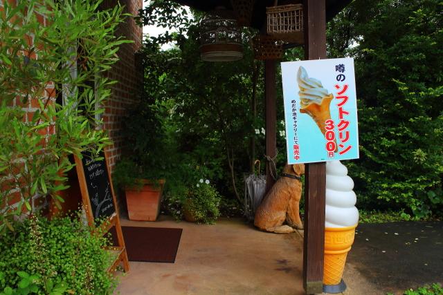 レストラン高知・ソフトクリーム1