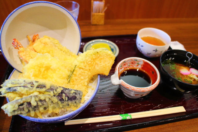 天丼や・にしかわ・高知市3
