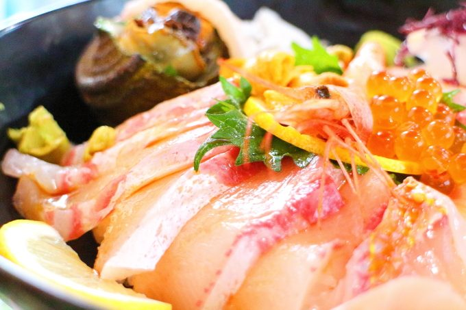 愛媛!ランチ!八幡浜「どーや食堂」海鮮丼!おすすめ!
