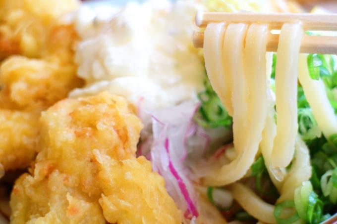 丸亀製麺・タル鶏天ぶっかけ8