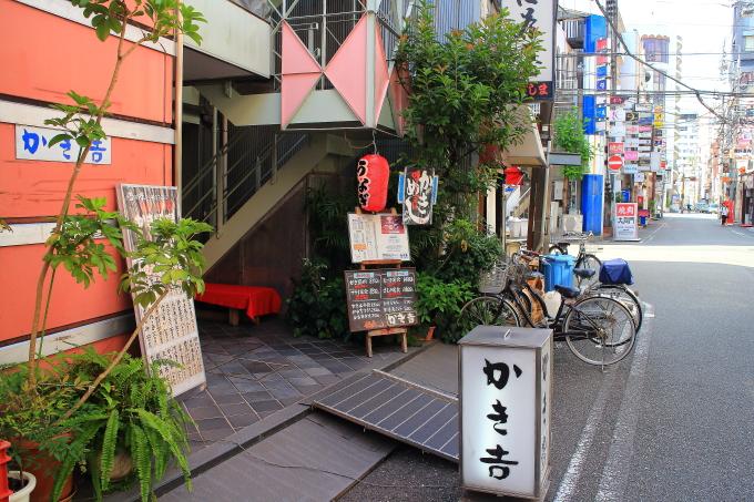 かき吉食堂・高知市・カキフライ11