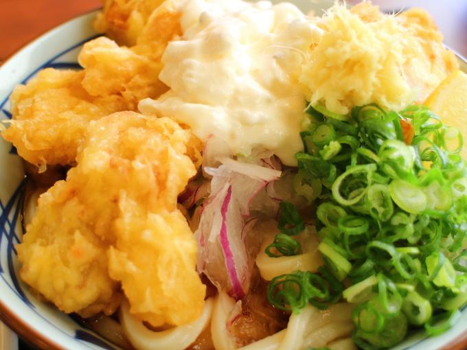 丸亀製麺・タル鶏天ぶっかけ10