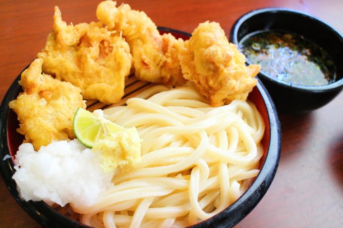 丸亀製麺・タル鶏天ぶっかけ3