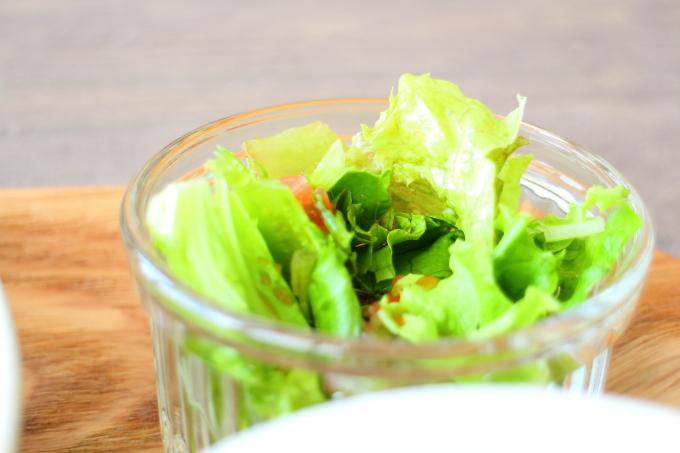 ニールマーレのランチ サラダ