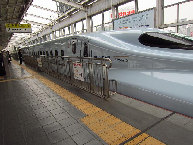 鹿児島旅行。九州新幹線「さくら」尻が座席に張り付く低重心!快適!