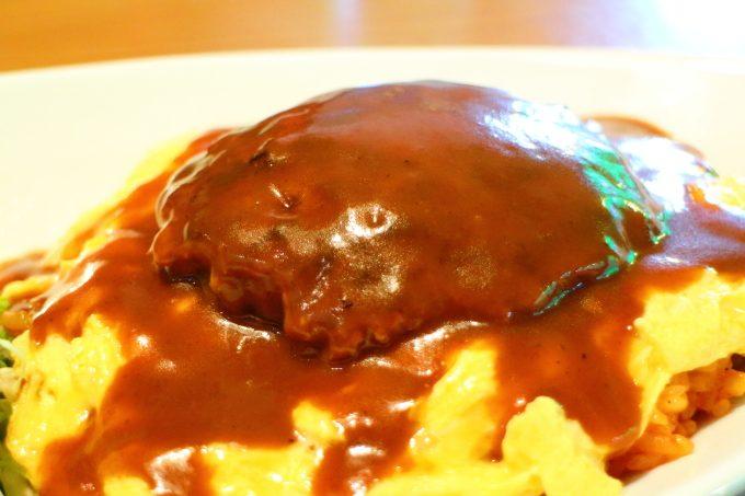 手作り「ハンバーグ」ランチ「すぷりんぐす」高知・春野のレストラン