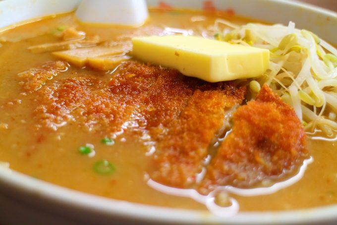 「ラーメンの豚太郎 春野店」味噌カツバターラーメン