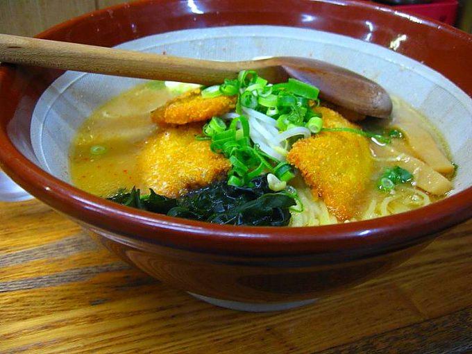 兵庫ラーメン山田店の味噌カツラーメン