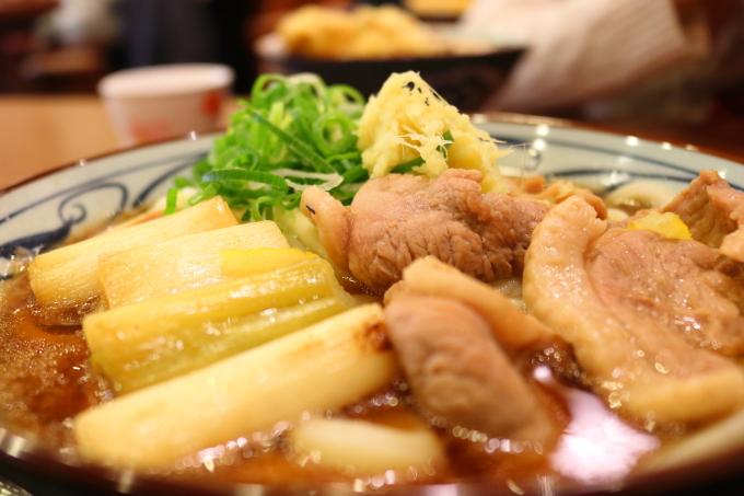 丸亀製麺 鴨ねぎうどん